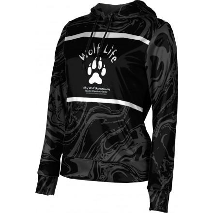 ProSphere Girls' SHY WOLF FAN SHOP Ripple Hoodie Sweatshirt