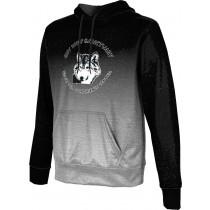ProSphere Men's SHY WOLF FAN SHOP Ombre Hoodie Sweatshirt