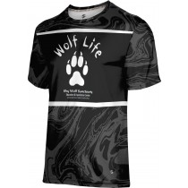 ProSphere Men's SHY WOLF FAN SHOP Ripple Shirt