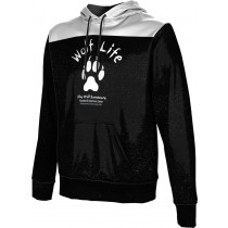 ProSphere Men's SHY WOLF FAN SHOP Gameday Hoodie Sweatshirt