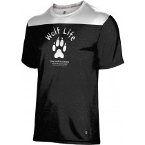 ProSphere Boys' SHY WOLF FAN SHOP Gameday Shirt