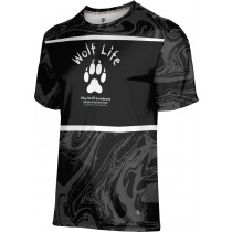 ProSphere Boys' SHY WOLF FAN SHOP Ripple Shirt