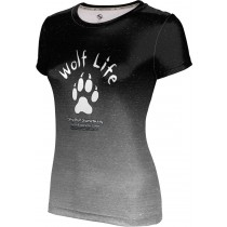 ProSphere Girls' SHY WOLF FAN SHOP Ombre Shirt