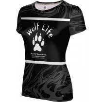 ProSphere Girls' SHY WOLF FAN SHOP Ripple Shirt