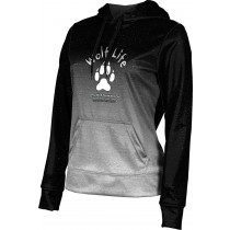 ProSphere Girls' SHY WOLF FAN SHOP Ombre Hoodie Sweatshirt