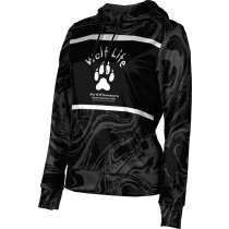 ProSphere Girls' SHY WOLF FAN SHOP Ripple Hoodie Sweatshirt