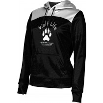 ProSphere Women's SHY WOLF FAN SHOP Gameday Hoodie Sweatshirt