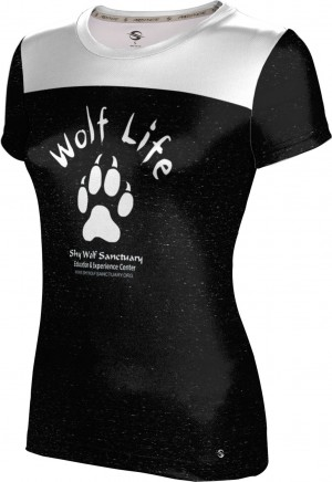ProSphere Girls' SHY WOLF FAN SHOP Gameday Shirt