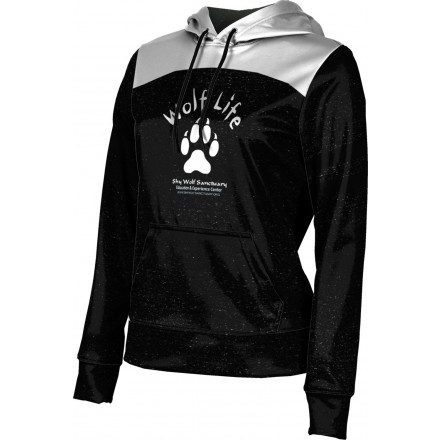 ProSphere Girls' SHY WOLF FAN SHOP Gameday Hoodie Sweatshirt