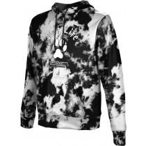 ProSphere Men's SHY WOLF FAN SHOP Grunge Hoodie Sweatshirt