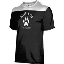 ProSphere Boys' SHY WOLF FAN SHOP Gameday Shirt