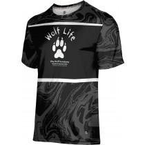 ProSphere Boys' SHY WOLF FAN SHOP Ripple Shirt