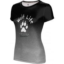 ProSphere Girls' SHY WOLF FAN SHOP Ombre Shirt