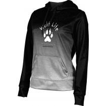 ProSphere Girls' SHY WOLF FAN SHOP Ombre Hoodie Sweatshirt