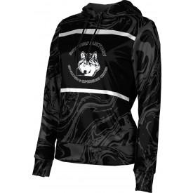 ProSphere Women's SHY WOLF FAN SHOP Ripple Hoodie Sweatshirt