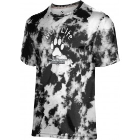 ProSphere Boys' SHY WOLF FAN SHOP Grunge Shirt