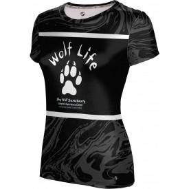 ProSphere Girls' SHY WOLF FAN SHOP Ripple Shirt