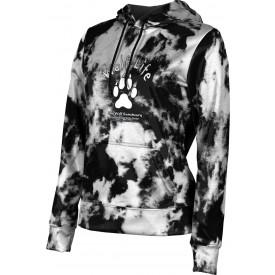 ProSphere Girls' SHY WOLF FAN SHOP Grunge Hoodie Sweatshirt