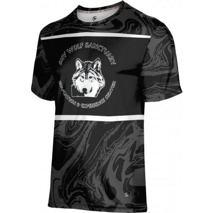 ProSphere Men's SHY WOLF FAN SHOP Ripple Shirt
